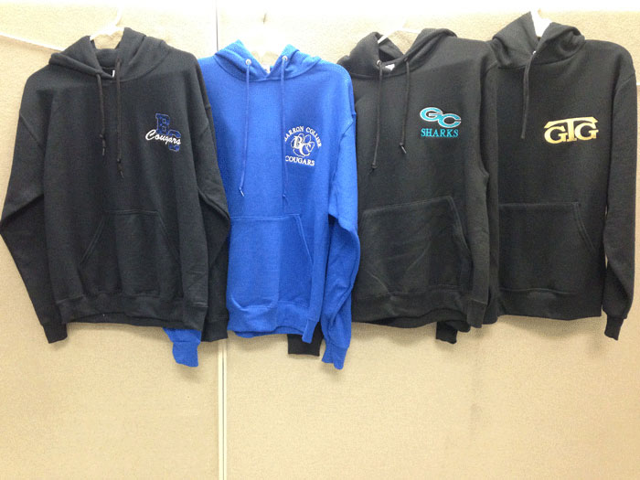 Screen Printed Sweatshirts in and near Florida