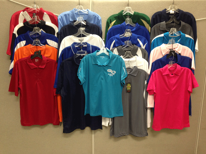 Screen Printed Polos in and near Marco Island Florida