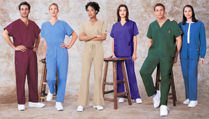 Screen Printed Healthcare Uniforms in and near Naples Florida