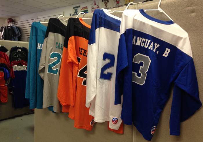 Screen Printed Jerseys in and near Naples Florida