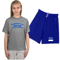 Screen Printed PE Uniforms in and near Naples Florida