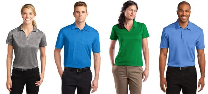 Screen Printed Polos in and near Naples Florida
