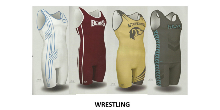 Screen Printed Wrestling Uniforms in and near Naples Florida